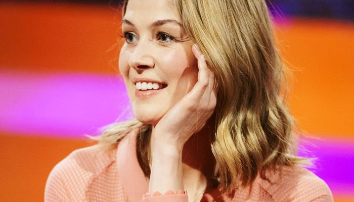 "Rosamund Pike and Jamie Dornan confirmed to ""The Graham Norton Show"""