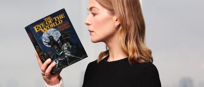 Press: Rosamund Pike to Lead 'Wheel of Time' in Amazon's TV Series Adaptation.